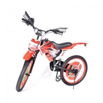 Bicyclette Moto-Cross pour enfant 8 - 12 ans - Orange - Jacaranda Tunisie