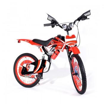 Bicyclette Moto-Cross pour enfant 8 -12 ans - Rouge - Jacaranda Tunisie