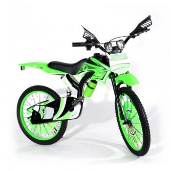 Bicyclette Moto-Cross pour enfant 8 - 12 ans - Vert - Jacaranda Tunisie