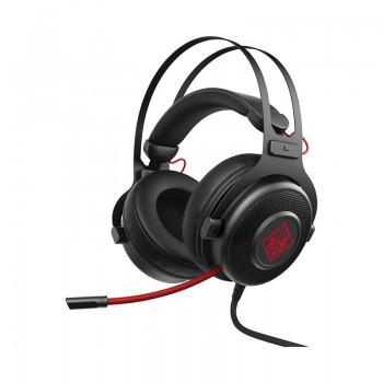 Micro Casque Gaming HP Omen 800 - Noir Rouge - 1KF76AA - Jacaranda Tunisie