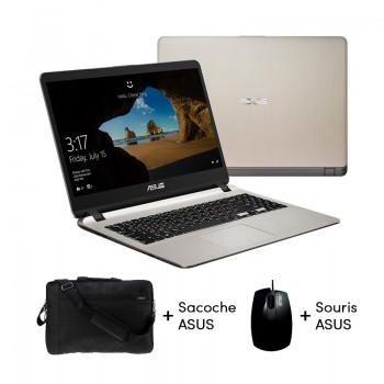 PC Portable Asus X507MA - Celeron - 4Go - 1To - Windows 10 - Gold - X507MA-NR399T - Jacaranda Tunisie