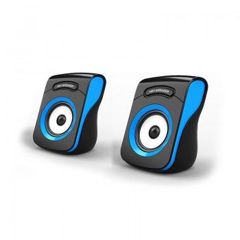 Haut-parleurs Havit HV-SK599 - USB 2.0 - Noir & Bleu - Jacaranda Tunisie