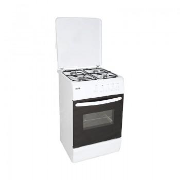 Cuisinière Klass 4 Feux 50x60cm - Blanc - CUIS-TG5640-BB - Jacaranda Tunisie
