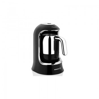 Cafetière Turque KORKMAZ A860-07 / 400 W / Noir & Chrome