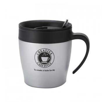 Thermos De Café - Acier Inoxydable - Gris
