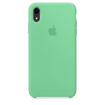 Coque en silicone pour iPhone XR - Menthe verte