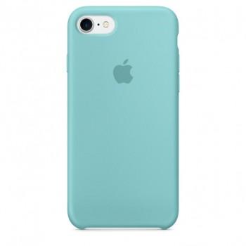 coque iphone 8 silicone bleu ciel
