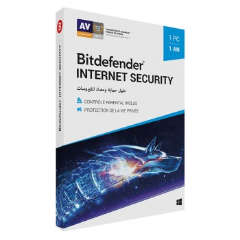 AntiVirus BITDEFENDER Internet Security ( 1 poste )