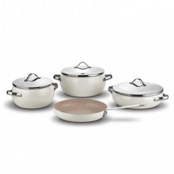 Set de 7 pièces Korkmaz LUMİA Cookware A2674 - Beige