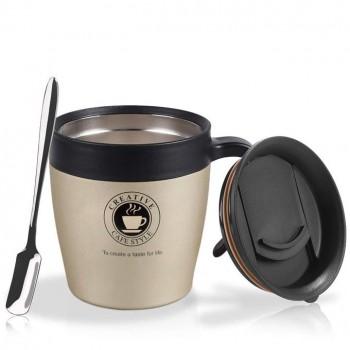 Thermos De Café - Acier Inoxydable - Gold